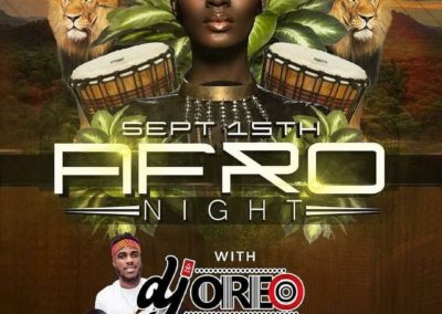 Sep 15 - Afro Night