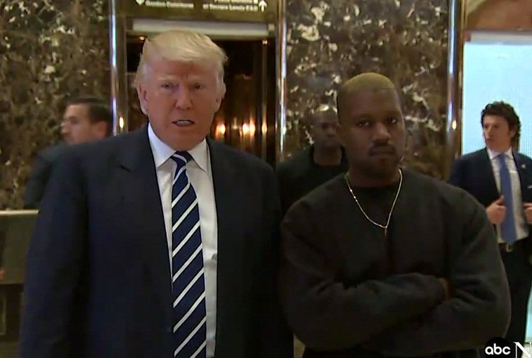 Token Watch: Trump Says Lunch With Kanye West Will Help Get Him Black Male Voters
