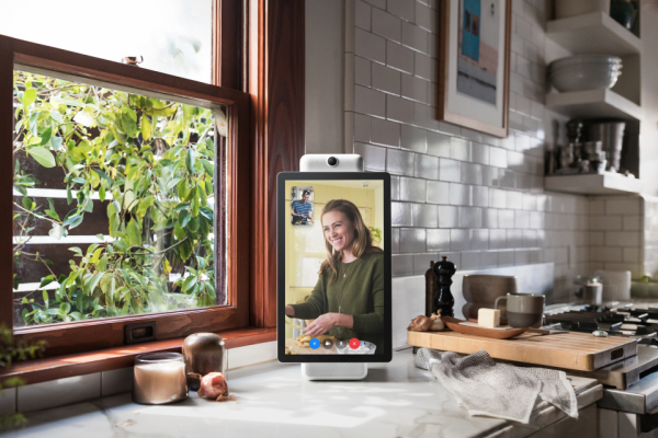 Facebook Introduces Its New Video Calling Device The Portal and Portal Plus