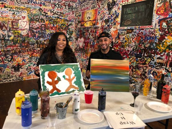 Swizz Beatz To Auction Original Painting For Charity