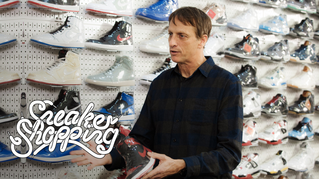 Tony Hawk on Sneaker Shopping